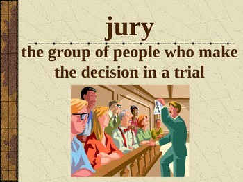 3rd L-2 The Trial of Cardigan... Vocabulary/Spelling/Comprehension Power Point