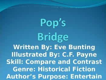 3rd L-4 Pop's Bridge Vocabulary/Spelling/Comprehension Pow