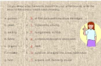 3rd Language Arts HM 6.2 Poppas New Pants Vocab PPT