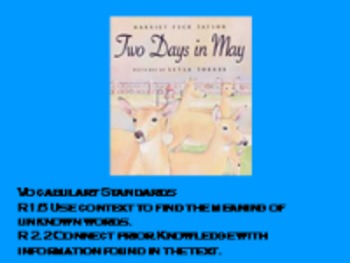 3rd Language HM 4.3 Two Days in May Vocab PPT