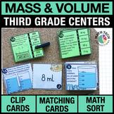 3rd - Mass and Volume Math Centers - Math Games