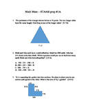 3rd Math - Frequently Missed TEKs Practice and Assessment