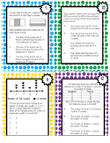 3rd Math STAAR Review Task Cards {FREE SAMPLE}