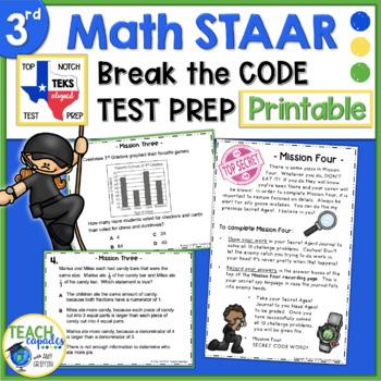 3rd Grade Math STAAR Review - Secret Agent Academy