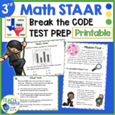 Math STAAR Test Prep - 3rd Grade Secret Agent Academy