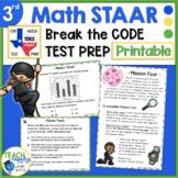 Math STAAR Test Prep - 3rd Grade Secret Agent Academy