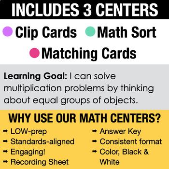 3rd - Multiplication Centers - Math Games