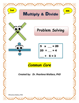 3rd Grade Math Multiplication & Division  Common Core Standads