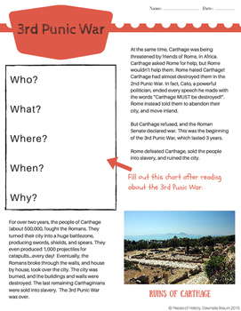 3rd Punic War: Rome vs. Carthage, and the demise of Carthage