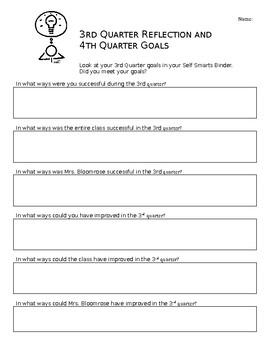 3rd Quarter Reflection and 4th Quarter Goals