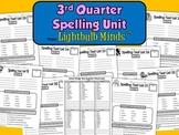 3rd Quarter Spelling Unit from Lightbulb Minds