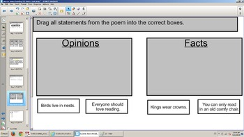 3rd Reading SOL TEI Review Poem passage with comprehension questions/test prep