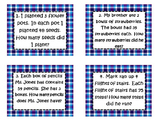 3rd SOL Set #2 2 digit by 1 digit Multiplication Word Problem Task Cards
