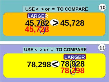 3rd Grade  Place Value, Compare and Money (animated)