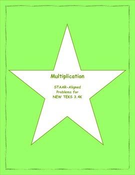 3rd STAAR Multiplication New TEKS 3.4K