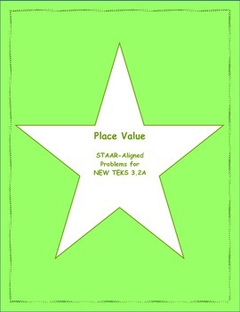 3rd STAAR Place Value New TEKS 3.2A