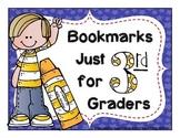 3rd (Third) Grade Bookmarks