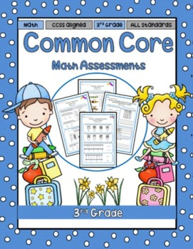 3rd Grade Math Assessments (Common Core)