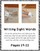 3rd Third Grade Dolch Sight Word Interactive Notebooks Set 2