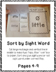 3rd Third Grade Dolch Sight Word Interactive Notebooks Set 8