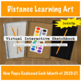 3rd & Up Virtual Interactive Sketchbook | Distance Learnin