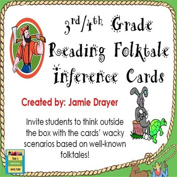 Inference Cards with Common Folktales to Draw Conclusions