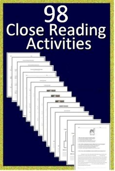 3rd and 4th Grade Reading Comprehension Passages and Questions Close Read Bundle