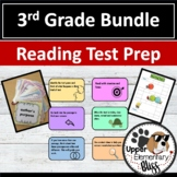 3rd grade reading test prep bundle