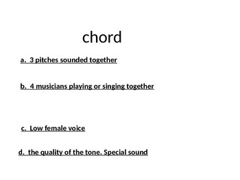 C- Upper Elementary music terms pp GAME