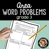 3rd grade Area Word Problems - Close Reading!