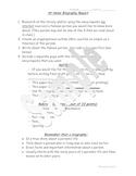 3rd grade Biography Report