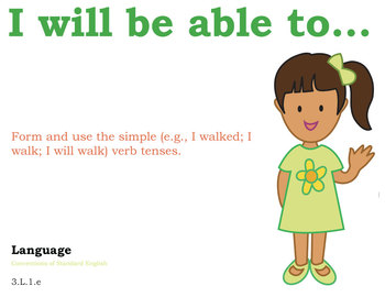 3rd grade English Common Core Posters Third Grade Standards