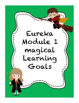 3rd grade Eureka Module 1 Learning Goals. ( I can statements)