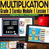3rd grade Eureka Module 1 Lesson 1 Printable and Digital T