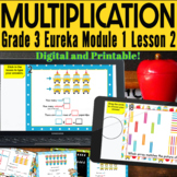 3rd grade Eureka Module 1 Lesson 2 Printable and Digital T