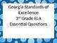 3rd grade Georgia Standards of Excellence EQ