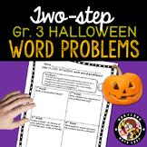 3rd grade Halloween Word Problems - Close Reading!