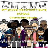 3rd grade Historical Figures/Famous Americans {Character People#thriftythursday