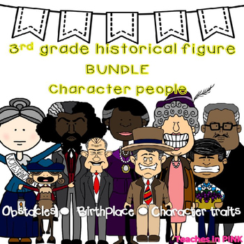 3rd grade Historical Figures/Famous Americans {Character P