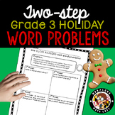 3rd grade Christmas Two Step Word Problems