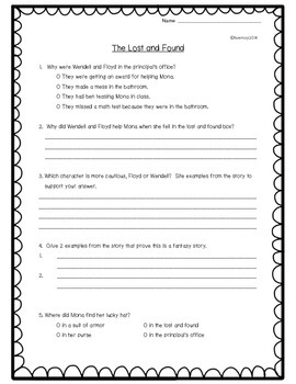 3rd grade Houghton Mifflin Common Core Comprehension Quizzes Vol. 1