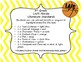 3rd grade Literature LAFS Standards - Basketball Theme