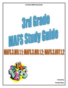 3rd grade MAFS Study Guide/Test Prep