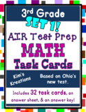 3rd grade AIR Math Test Prep: Set 1 (Ohio) Task Cards