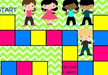 3rd grade Math Common Core Promethean Board Game