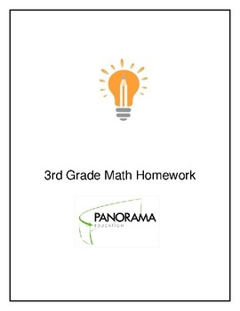 3rd grade Math Homework Booklet