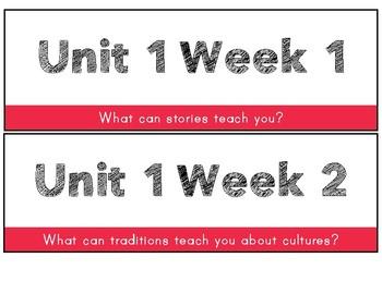 3rd grade Math, Reading, Writing Objectives Focus wall BUNDLE