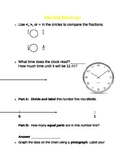 3rd grade Math Warm-up