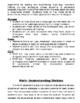 3rd grade Math bulletin board blurbs aligned to CCLS