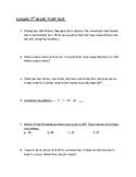 3rd grade Math test - End of Year Cumulative Test